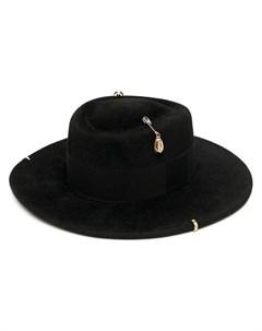 Шляпа канотье с цепочкой Ruslan baginskiy
