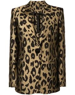 Куртка Justin с леопардовым принтом Petar petrov