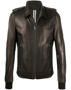 Куртка с манжетами в рубчик Rick owens