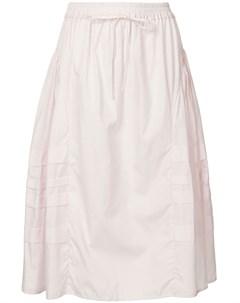 Присборенная юбка со вставками Cecilie bahnsen