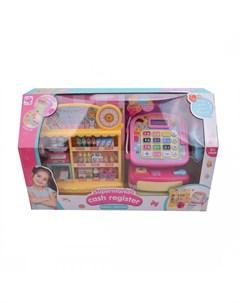 Игровой набор Супермаркет со светом и звуком 39 предметов Наша игрушка