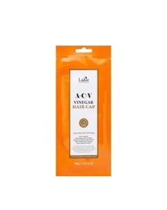 Маска шапочка для волос ACV Vinegar Hair Cap 1 шт Lador