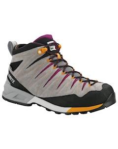 Ботинки Для Треккинга Высокие 2018 Crodarossa Mid Gtx Wmn Pewter Grey Pansy Purple Dolomite