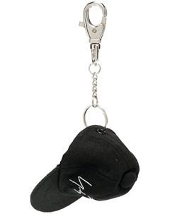 Брелок с подвеской в форме кепки Yohji yamamoto