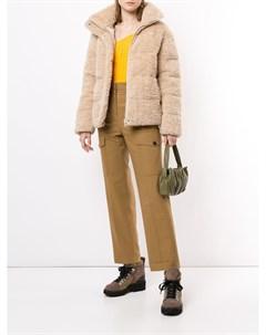 Куртка пуховик из искусственного меха Unreal fur