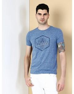 COLINS голубой мужской футболки короткий рукав