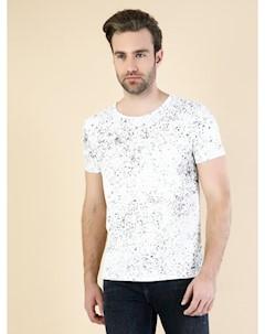 COLINS белый мужской футболки короткий рукав