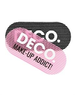 Набор заколок для волос для умывания и макияжа 2 шт Deco