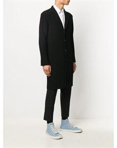 Плиссированное пальто Homme plissé issey miyake