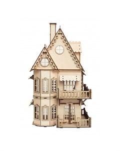 Кукольный домик 61х35х21 см Эlen toys