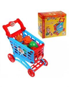 Игровой набор Супермаркет 16 предметов Наша игрушка