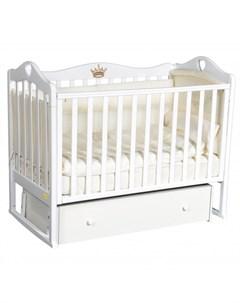 Детская кроватка Amelia универсальный маятник Luciano