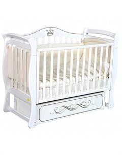 Детская кроватка Perla универсальный маятник Luciano