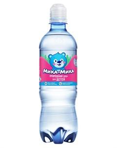 Вода Мика Мика негазированная 0 5л Мика?мика