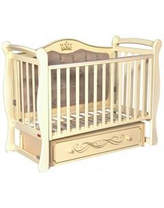 Детская кроватка Giovanni автостенка универсальный маятник Francesca