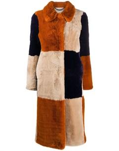 Шуба Fur Free Fur из искусственного меха Stella mccartney
