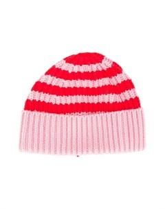 Трикотажная шапка в полоску Stella mccartney kids