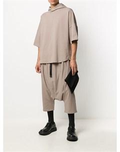 Укороченные брюки с низким шаговым швом Alchemy