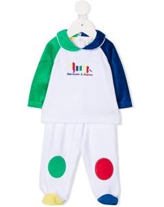 Спортивный костюм в стиле колор блок с логотипом Harmont & blaine junior