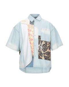 Джинсовая рубашка Pam perks and mini