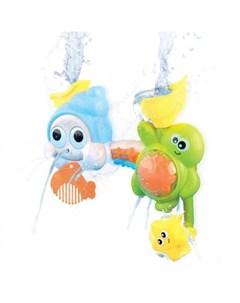 Игрушка лейка для купания Черепашка и улитка Жирафики