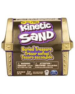 Набор для лепки Kinetic Sand Кинетический Сундучок Spin master