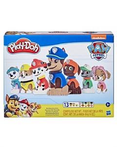 Игровой набор Play Doh Щенячий патруль Spin master