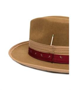 Шляпа федора Paris Texas Nick fouquet