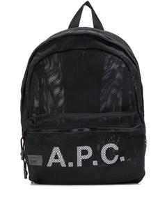 Рюкзак с логотипом A.p.c.