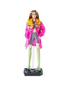 Кукла коллекционная BMR1959 в розовом плаще Barbie