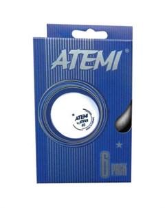 Мячи для настольного тенниса 1 6 шт Atemi