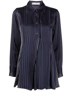Плиссированная блузка Kanzi в тонкую полоску Palmer / harding