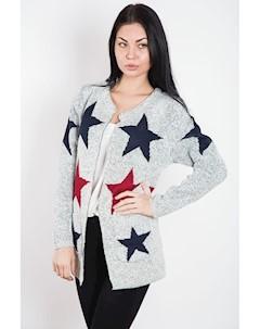 Кардиган женский 8501 M L Светло серый boutiques