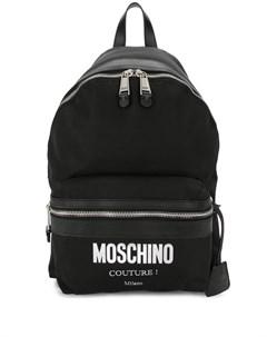 Рюкзак Cordura с логотипом Moschino