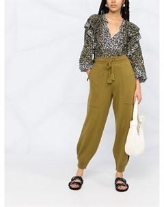 Укороченные брюки с кулиской Ulla johnson