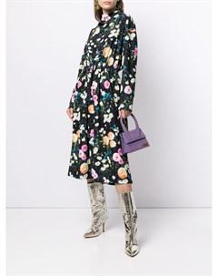 Платье миди Jay с цветочным принтом Stine goya