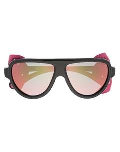 Солнцезащитные очки со съемными шорами Moncler eyewear