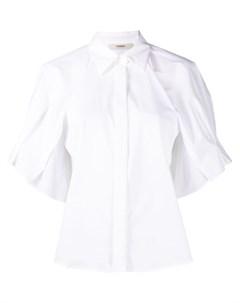 Однотонная рубашка Odeeh