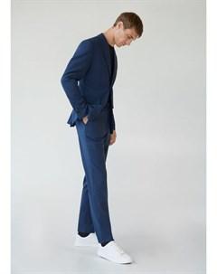 Пиджак slim fit с мелкой фактурной выделкой Brasilia Mango