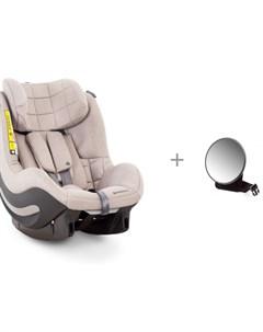 Автокресло AeroFix RWF и зеркало для наблюдения за ребенком в автомобиле Forest Avionaut