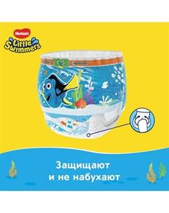 Трусики подгузники для плавания Little Swimmers 3 4 7 15кг 12шт Huggies