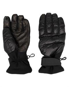 Дутые перчатки Moncler grenoble