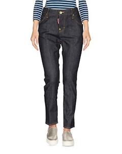 Джинсовые брюки капри Dsquared2