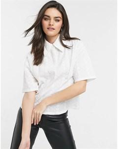 Белая блузка Native youth