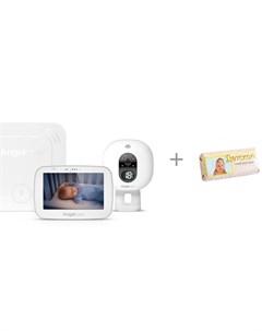Беспроводной монитор движения и видеоняня c 5 сенсорным LCD дисплеем и мыло Свобода Angelcare