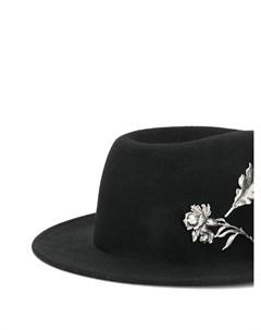 Фетровая шляпа федора Ann demeulemeester