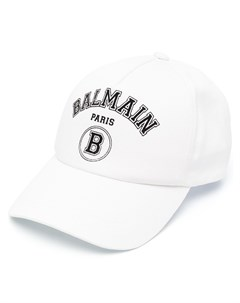 Бейсболка с логотипом Balmain