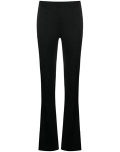 Атласные брюки с разрезами Galvan