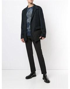 Кашемировый пиджак в клетку Stefano ricci