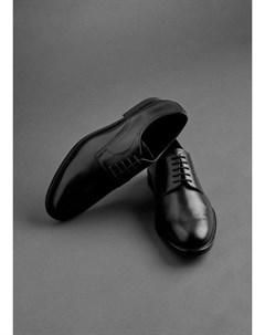 Кожаные туфли блюхеры черного цвета Madrid Mango